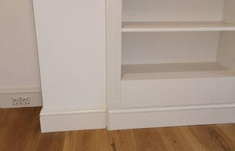 Garderoba i szafy skośne na poddaszu