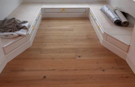 Drewniana podłoga - deski dębowe olejowane