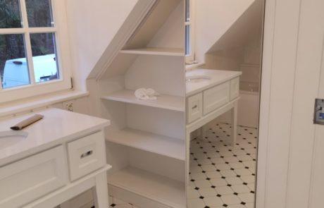 Toaletka w stylu angielskim